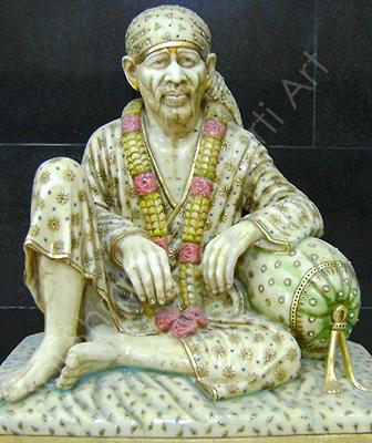 Dwarka Mai Idols Marble Moorti
