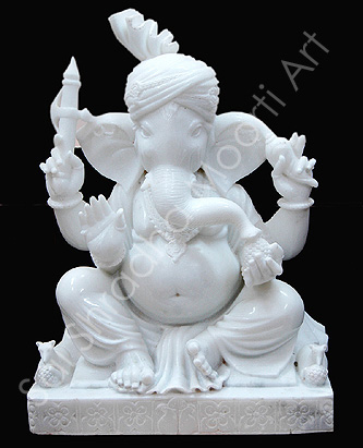 Hindu Marble God Idols Ganesh Statue Maker Supplier Manufacture