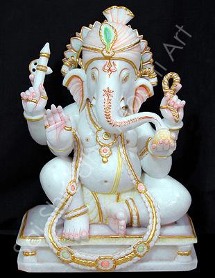 Hindu Marble God Idols Ganesh Statue Maker Supplier