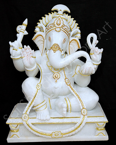 Hindu Marble God Idols Ganesh Statue Maker Supplier