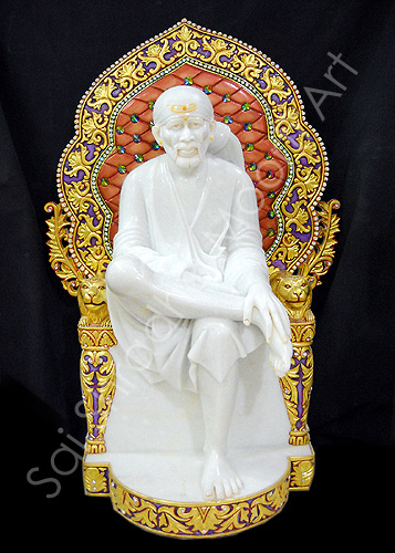 Sai Baba Marble Statues Maker And Exporter