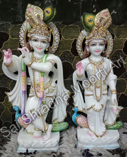 Radha Krishan Marble Moorti Maker Saishradhamoortiart Com